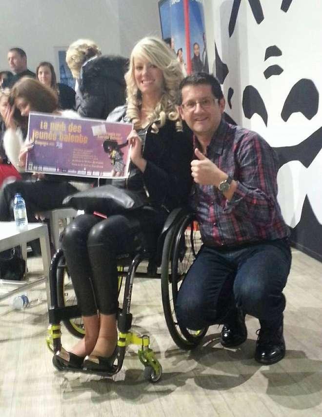 Laurana, disabile e aspirante reginetta: in sedia a rotelle alle selezioni di Miss Francia
